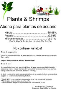 Abono fertilizante plantas